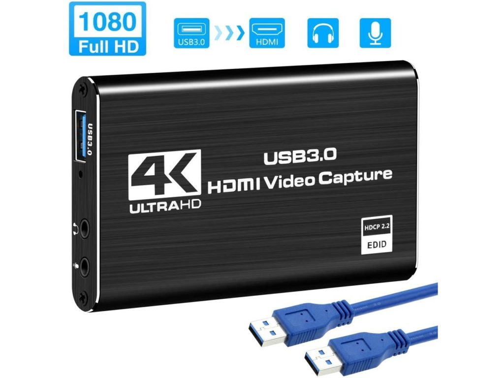 HDMI audio video capturing card
